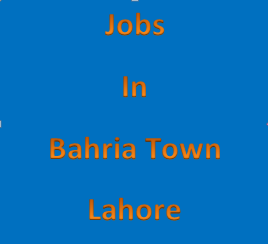 Jobs in Bahria Town