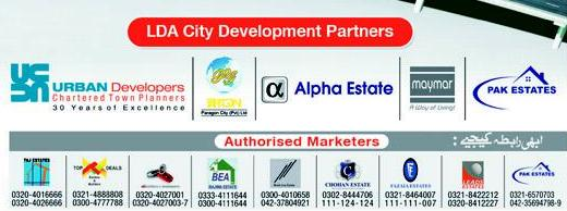 LDA City development partners and authorized marketers