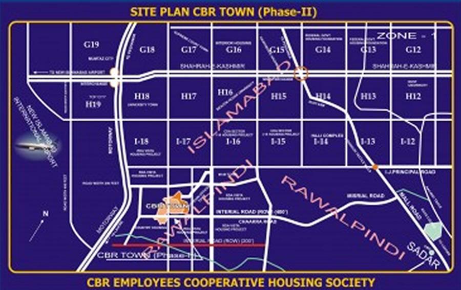 Rawalpindi Master Plan Master Plan Cbr Town Phase-2