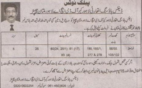 DHA Multan Land Purchase in Mauza Nodhand