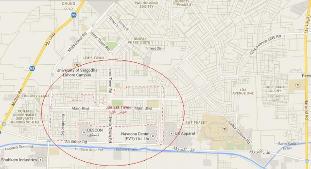 Jubilee Town Housing Scheme Lahore near PGSHF and LDA Avenue One