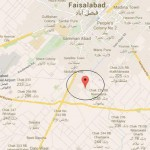 Chenab Gardens Faisalabad Location Map