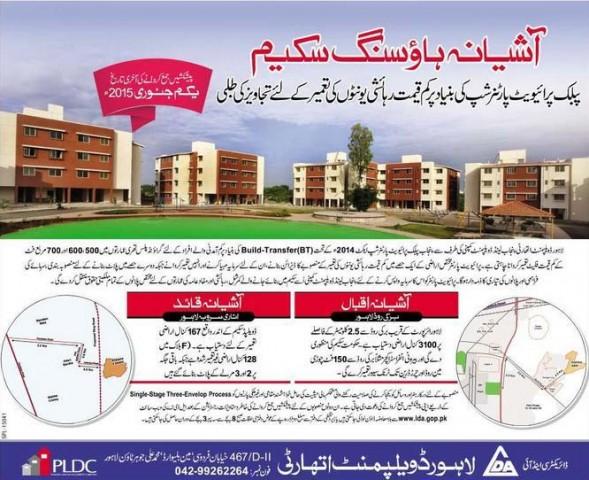 Knitting Units In Lahore : Ashiana housing scheme low cost unit by public