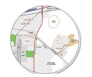 Ashiana Iqbal Lahore Location Map