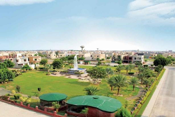Bahria Town Lahore Sector B View