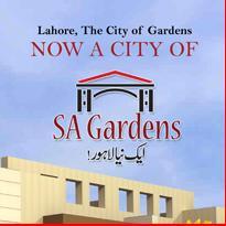 SA Gardens Lahore Logo