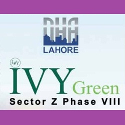 DHA Lahore IVY Green Sector Z Phase VIII Logo