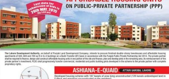 Ashiana e Quaid Lahore Townhouses and Apartments Planned