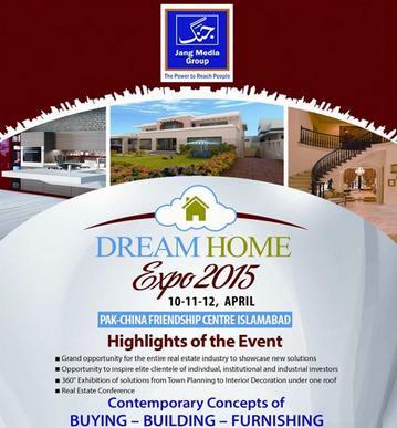 Jang Dream Home Expo 2015 Islamabad