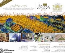 Registration Form of Jinnah Avenue Commercial at Bahria Town Site office Karachi