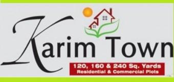 Karim Town Housing Scheme Karachi
