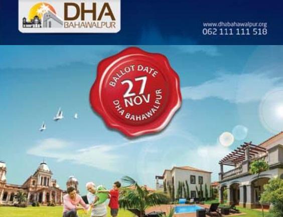 DHA Bahawalpur Announced Balloting Date of Plots
