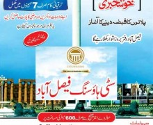Citi Housing Faisalabad Announced Plot Possessions Process