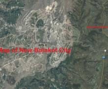 New Balakot City – Location Map and Master Plan