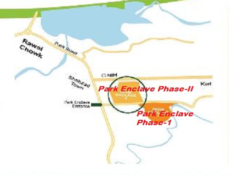 Park Enclave Phase 2 Islamabad - Location Map
