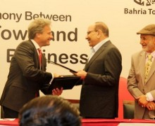 Bahria Town and Mobilink Signed MoU for Digital Transactions System