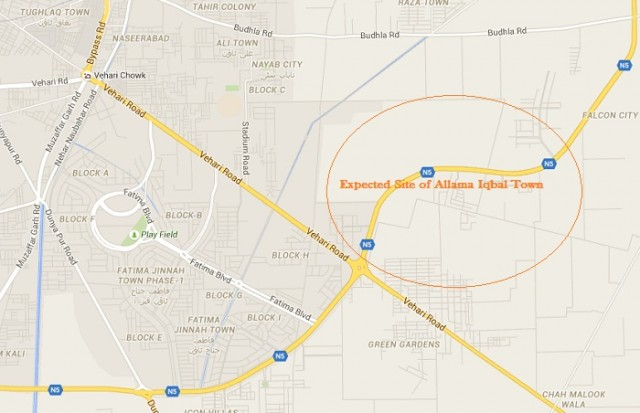 Expected Site of Allama Iqbal Town Multan near Fatima Jinnah Town Multan