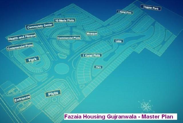 Fazaia Housing Scheme Gujranwala - Master Plan