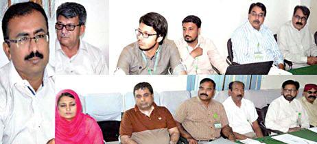 MDA ADG Multan Altaf Hussain Sariyo Meeting