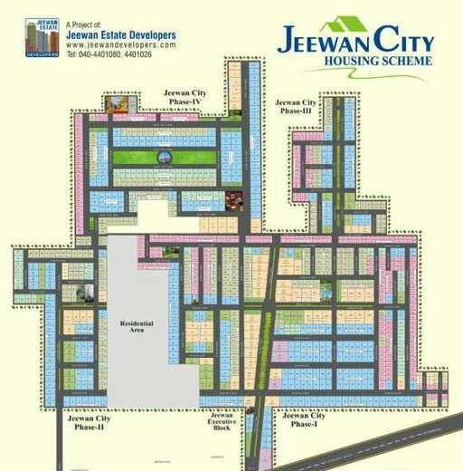 jeewan-city-housing-scheme-sahiwal-layout-plan-2