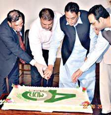 MD Multan 40th Anniversary - Cake Cutting