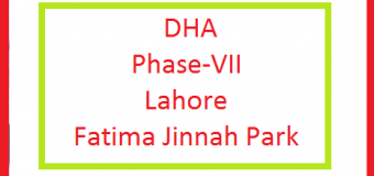 DHA Phase 7 Lahore – Construction of Synthetic Jogging Track in Fatima Jinnah Park