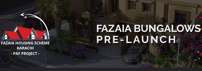 Fazaia Bungalows Pre-Launching in Karachi
