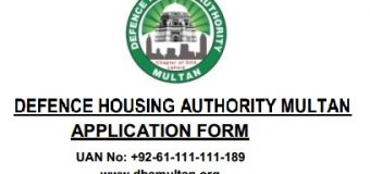 Application Procedure in DHA Multan and Rates of Plots