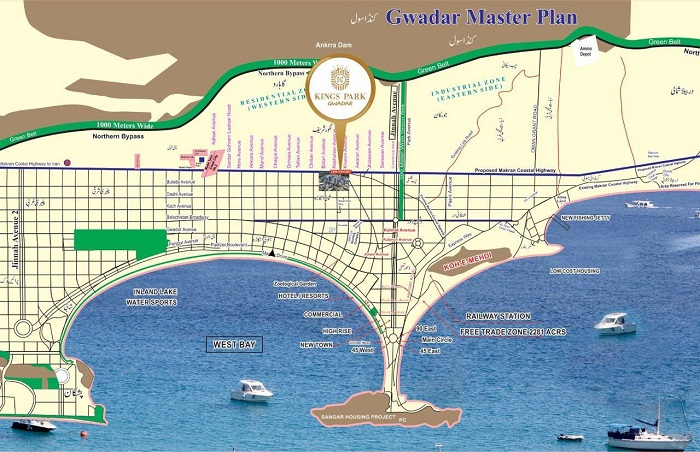 Kings Park Gwadar Housing Scheme - Location Plan