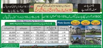 Blue World City Islamabad Housing Scheme – Submit Membership Application Form