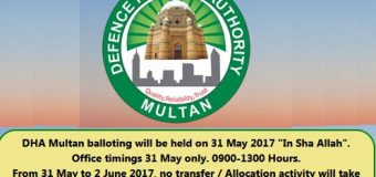 DHA Multan Balloting Result 2017 Today Online