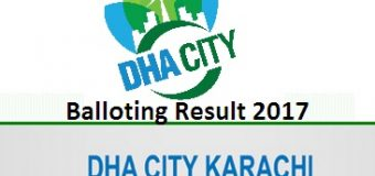 When Balloting of DHA City Karachi Phase-I will be Held?