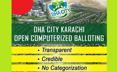 DHA City Karachi - DCK Open Computerized Balloting on 14 June 2017 Results Online