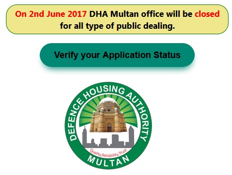 dha multan balloting -draw result online today on 2 june 2017