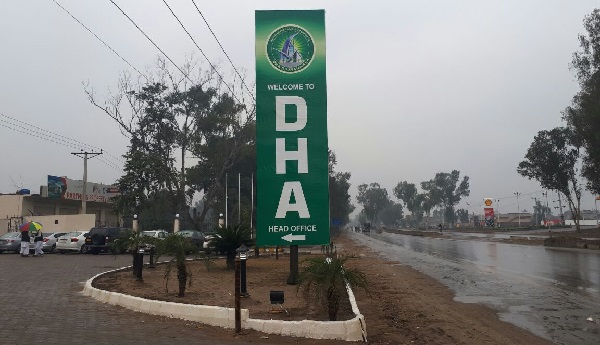 DHA Gujranwala Head Office Location on GT Road near Rahwali Cantt