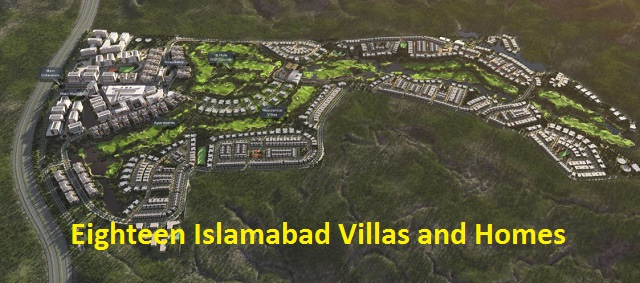 Eighteen Islamabad Villas and Homes - Master Plan