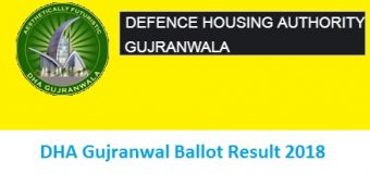 DHA Ballot No Results Gujranwala Today Online for Download for 5 Marla Plots