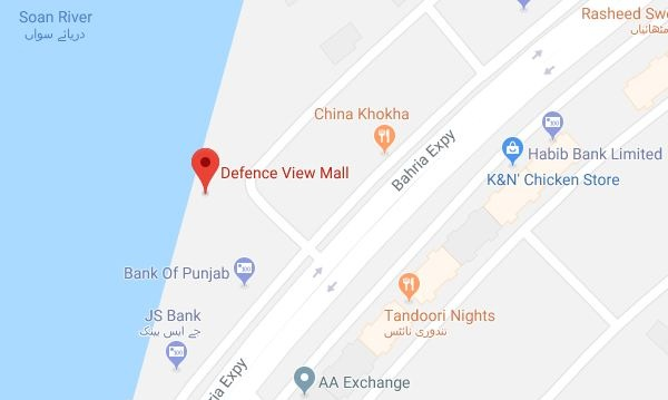 Defence View Mall Bahria Town Phase 7 Rawalpindi-Islamabad.