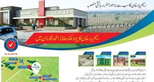 Etihad Garden Housing Scheme Rahim Yar Khan - Airport Road Location-min