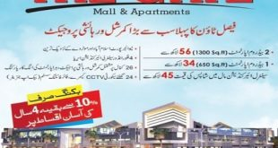 The Gate Mall and Apartments Faisal Town Rawalpindi-Islamabad