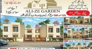 Ali-Ze Garden Bungalows Karachi - Booking Open-min