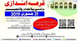 DHA BWP Balloting Result for PLot Number and Villa No Today Online Download-min