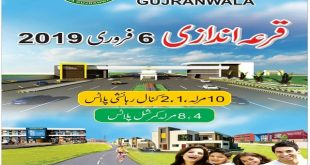 Residential Commercial Plots Quraandazi - DHA Gujranwala Balloting Result Plots Today 6 Feb 2019-min