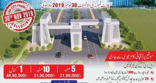 LDA-City-Plot-Numbers-Allottment-Balloting-Result-2019-Live-Online-on-LDA-Website
